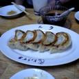 ニラ餃子 (¥350)