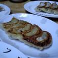 キムチ餃子 (¥400)