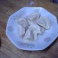 黄ニラ入りゆで餃子 (¥400)