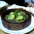 海鮮ヒスイ餃子 (¥600)